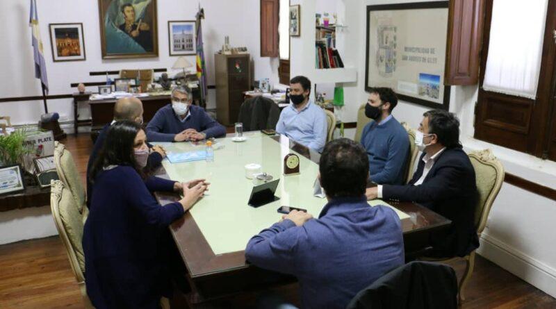 Reunion en el municipio por «Programa Federal Municipios de Pie»