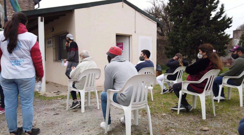 Mas de 100 vecinos se vacunaron en Solis