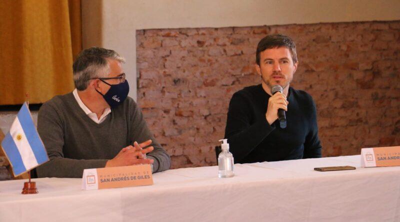 El ministro de la producción Bonaerense visito la ciudad